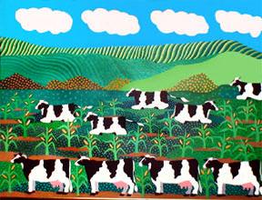 Bovine Recline © Jane Caminos