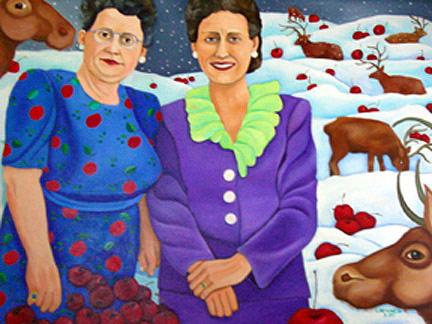 Cherries in the Snow © Jane Caminos
