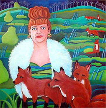 Foxy Lady © Jane Caminos-