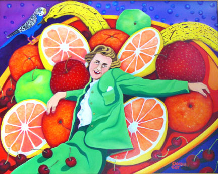Fruity Freda Finds Friends © Jane Caminos