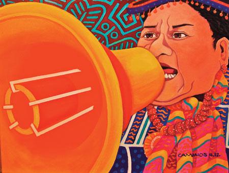La Voz © Jane Caminos