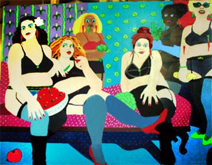 Ladies of the Ensalada © Jane Caminos